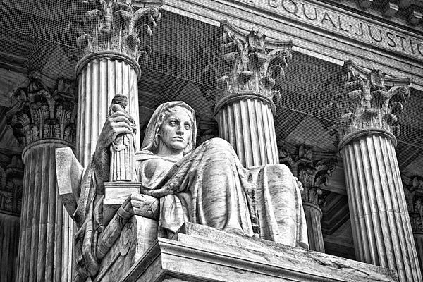 Black Russian Photograph - Supreme Court Building 15 by Val Black Russian Tourchin