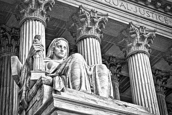 Black Russian Photograph - Supreme Court Building 16 by Val Black Russian Tourchin