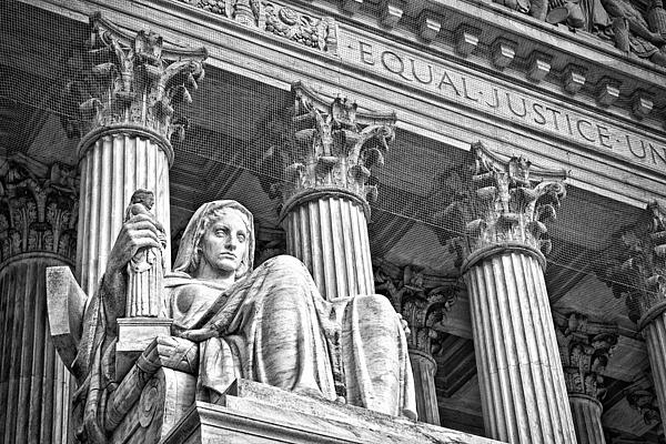 Black Russian Photograph - Supreme Court Building 17 by Val Black Russian Tourchin