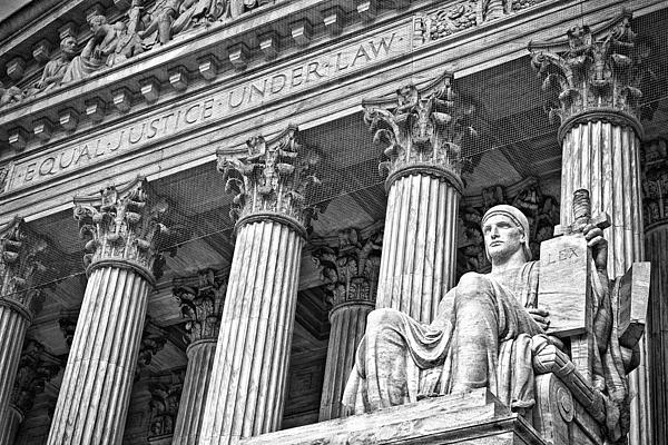 Black Russian Photograph - Supreme Court Building 18 by Val Black Russian Tourchin
