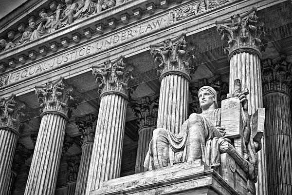Black Russian Photograph - Supreme Court Building 19 by Val Black Russian Tourchin
