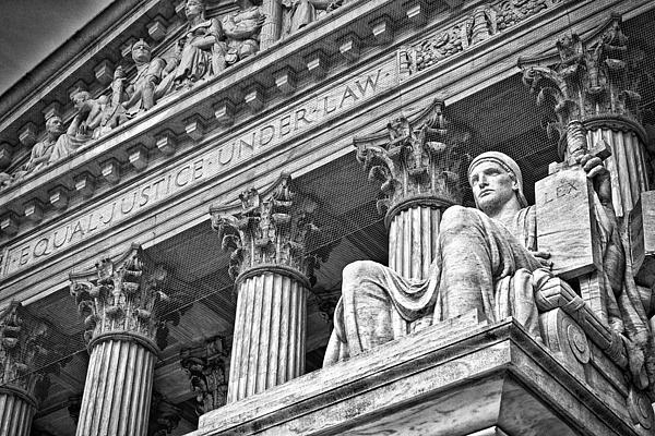 Black Russian Photograph - Supreme Court Building 20 by Val Black Russian Tourchin