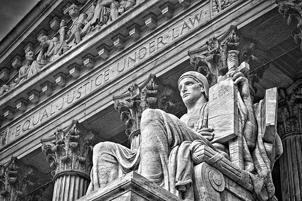 Black Russian Photograph - Supreme Court Building 21 by Val Black Russian Tourchin