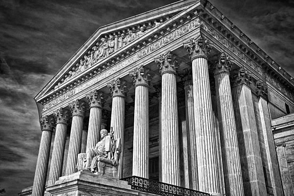 Black Russian Photograph - Supreme Court Building 5 by Val Black Russian Tourchin