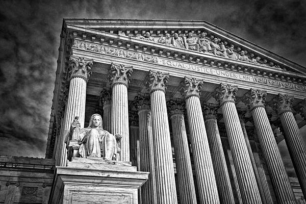 Black Russian Photograph - Supreme Court Building 6 by Val Black Russian Tourchin