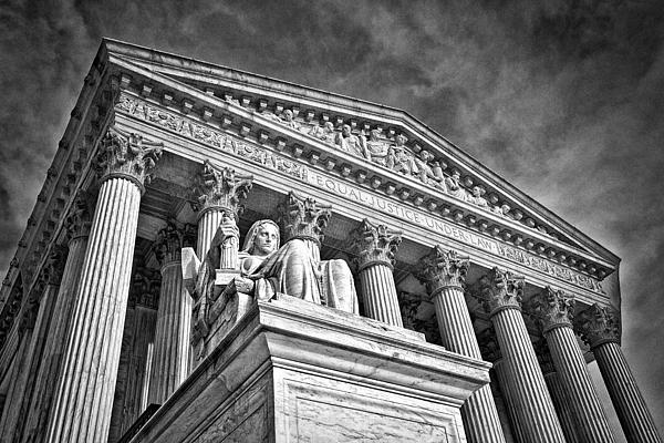 Black Russian Photograph - Supreme Court Building 7 by Val Black Russian Tourchin