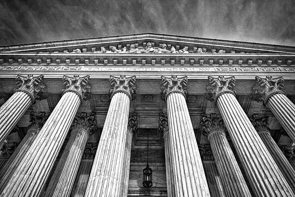 Black Russian Photograph - Supreme Court Building 9 by Val Black Russian Tourchin