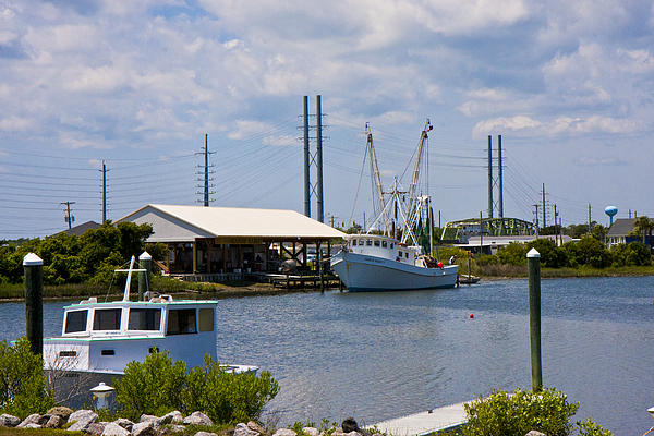 Topsail Photograph - Surf City View by Betsy Knapp