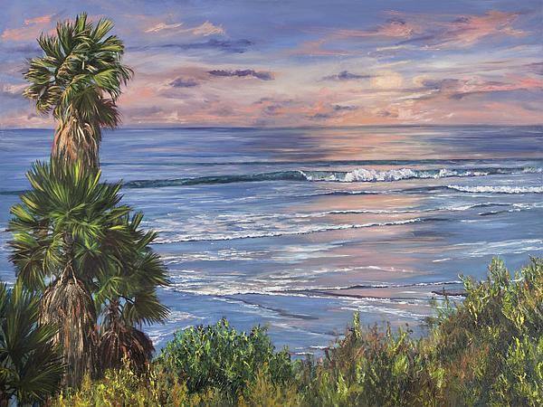 Swamis Painting - Swamis Sunset by Lisa Reinhardt