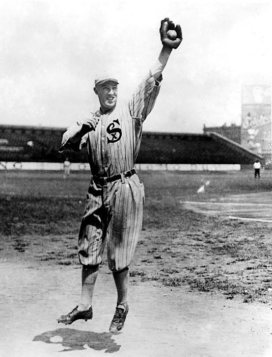 Baseball Field Photograph - Swede Risberg, Charles, Scandal-ridden by Everett