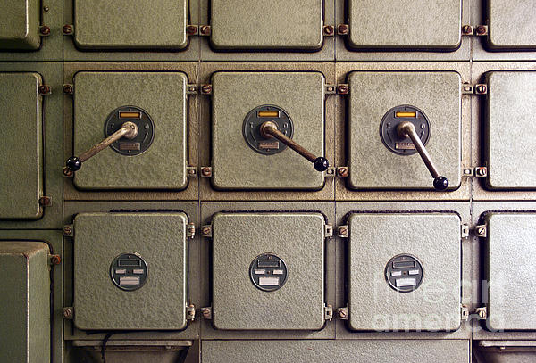 Automation Photograph - Switch Panel by Carlos Caetano