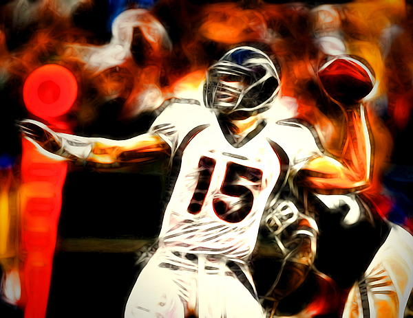 Tim Tebow Painting - Tebow by Paul Van Scott