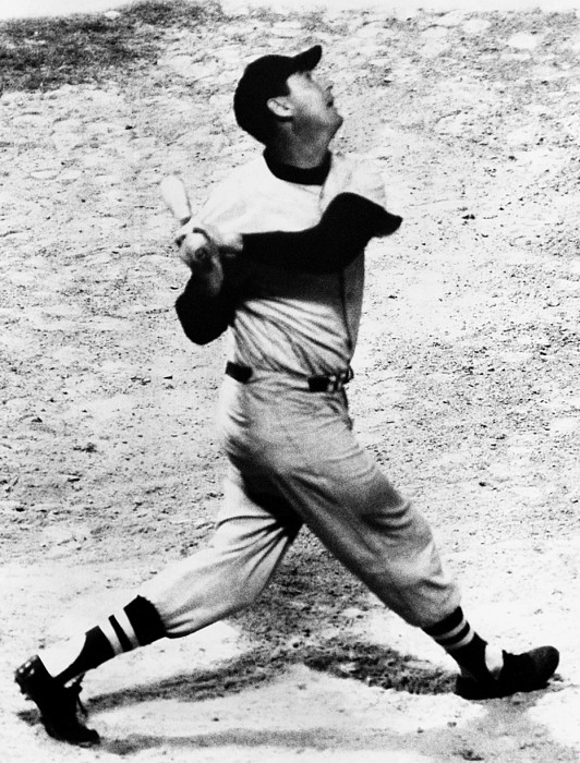 1950s Candids Photograph - Ted Williams Of The Boston Red Sox, Aug by Everett