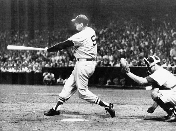 20th Century Photograph - Ted Williams Of The Boston Red Sox by Everett