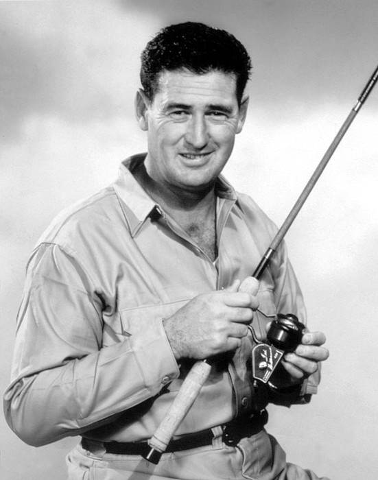 1960s Photograph - Ted Williams, With His Signature by Everett