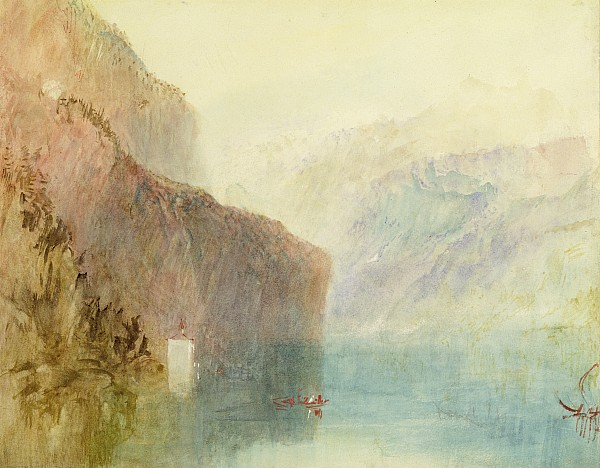 Tell Photograph - Tells Chapel - Lake Lucerne by Joseph Mallord William Turner