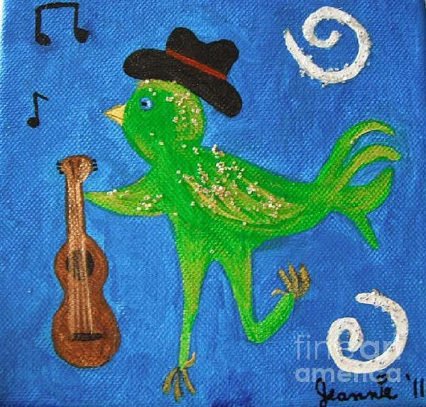 Tennessee Birdwalk Painting - Tennessee Birdwalk by Jeannie Atwater Jordan Allen