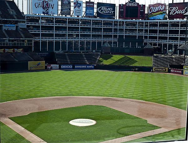 America Photograph - Texas Stadium by Malania Hammer
