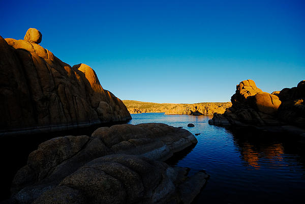 Granite Dells Photograph - That Magic Moment by Zee Helmick