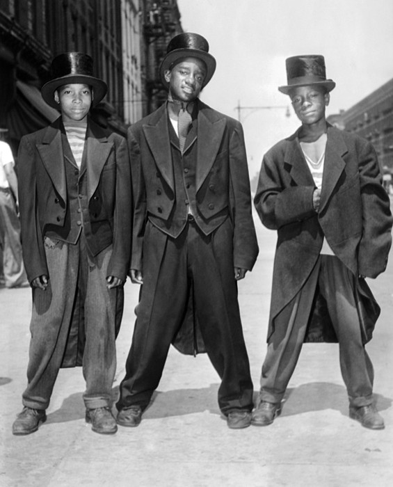 History Photograph - The African American Teenagers by Everett