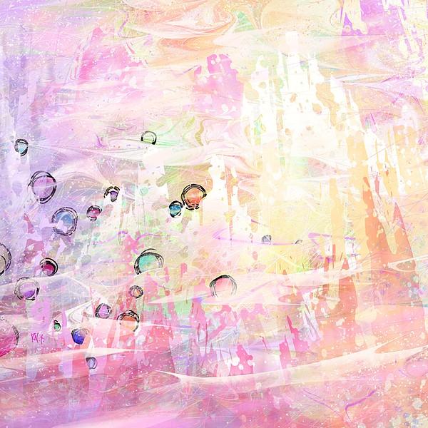 Landscape Digital Art - The Big Rock Candy Mountains by Rachel Christine Nowicki