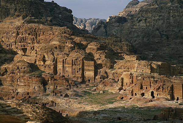 Asia Photograph - The Caves And Tombs Of Petra, Shown by Annie Griffiths