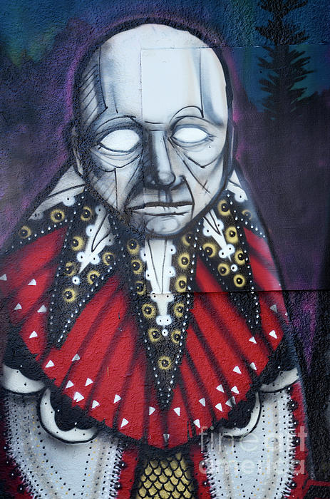 Graffiti Photograph - The Chief by Bob Christopher