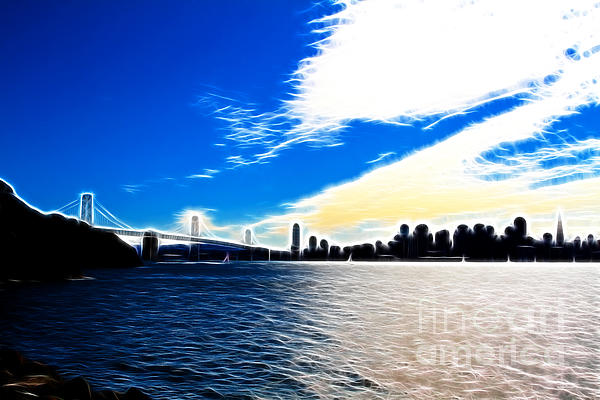 San Francisco Photograph - The City By The Bay by Wingsdomain Art and Photography