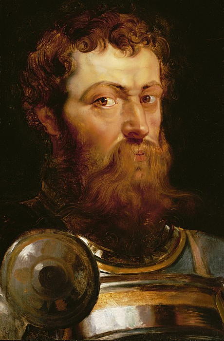 The Painting - The Commanders Head  by Peter Paul Rubens