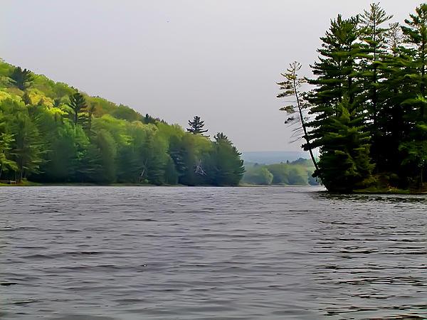 Delaware Photograph - The Delaware River by Bill Cannon
