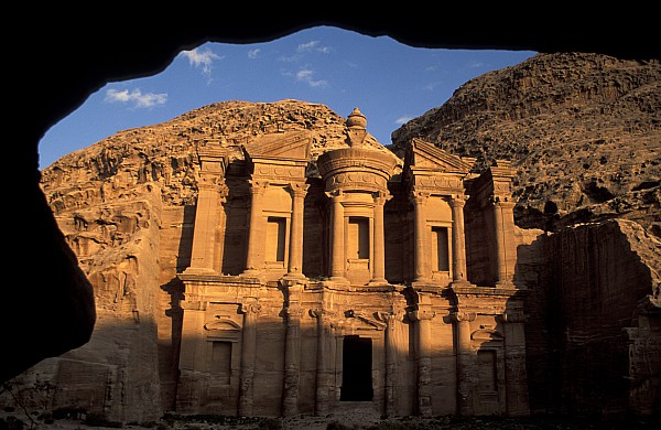 Petra Photograph - The Facade Of The by Richard Nowitz