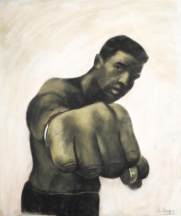L Cooper Pastel - The Fist by L Cooper