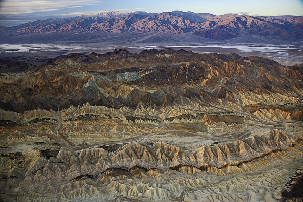 Death Valley Photograph - The Foothills Of Amargosa Canyon by Michael Melford