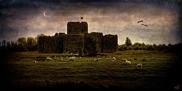 Fortress Photograph - The Fortress Of Minas Morgul by Chris Lord