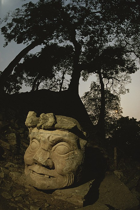 Copan Photograph - The Honduran Sun Setting by Kenneth Garrett