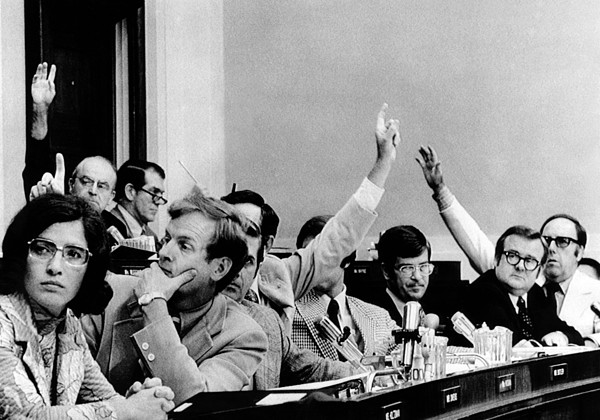 History Photograph - The House Judiciary Committee. The by Everett