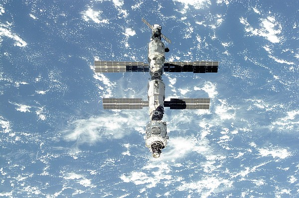 History Photograph - The International Space Station Is Seen by Everett