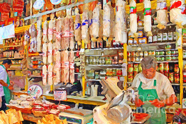 San Francisco Photograph - The Local Deli by Wingsdomain Art and Photography