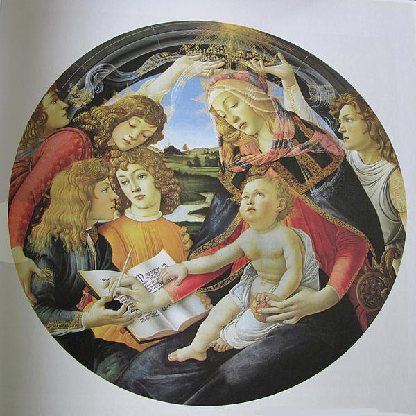 Painting Photograph - The Madonna Of The Magnificent by Carl Purcell