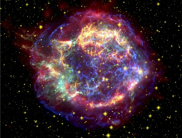 Stars Photograph - The Many Sides Of The Supernova Remnant by Nasa