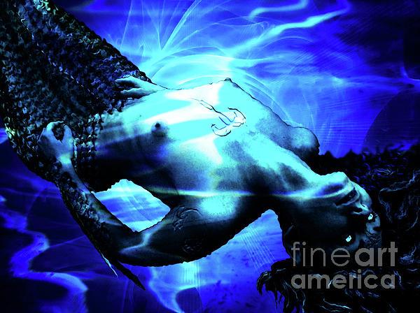 Mermaid Digital Art - The Mermaid by The DigArtisT