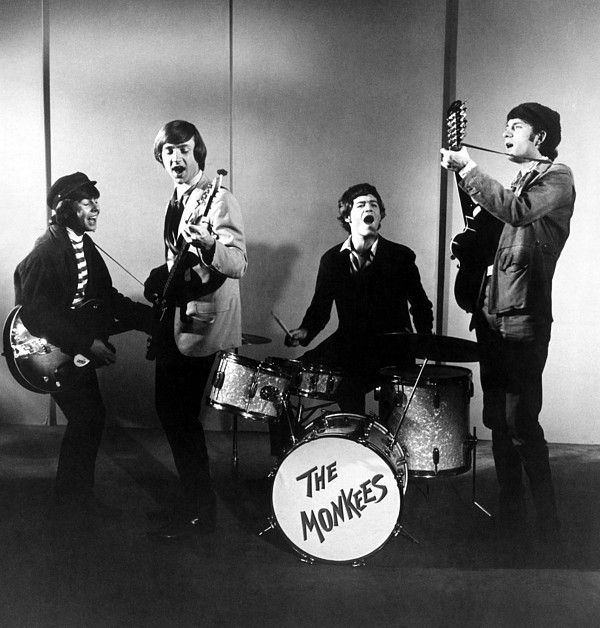The Monkees, L-r Davy Jones, Peter Photograph by Everett
