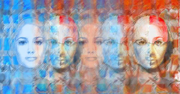 Face Digital Art - The Passage Fragment by Andrea Ribeiro