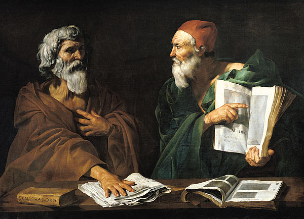 Philosophy Painting - The Philosophers by Master of the Judgment of Solomon