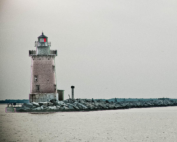 Lighthouse Photograph - The Phils Are Still My Team by Trish Tritz
