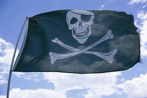 North America Photograph - The Pirate Flag Known As The Jolly by Stephen St. John