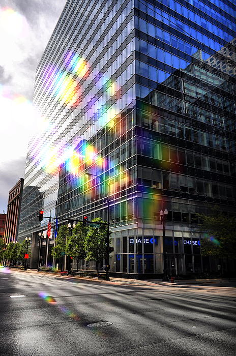 Chicago Photograph - The Rainbow Effect by Emily Stauring