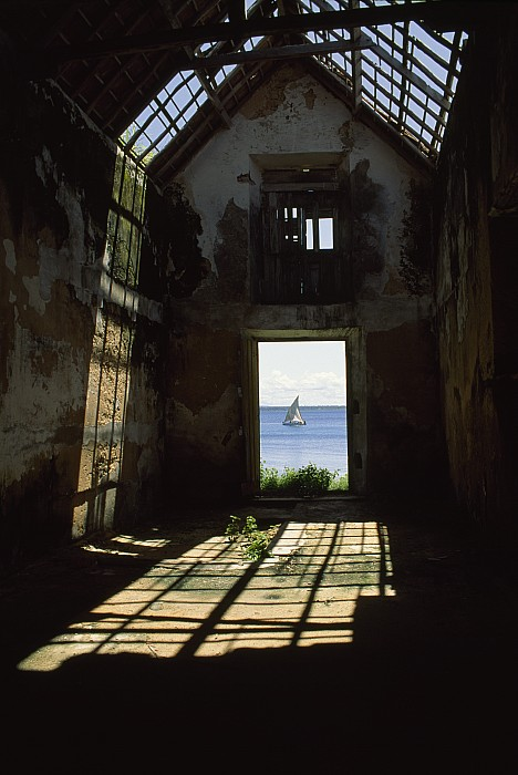 Africa Photograph - The Ruin Of A Slave Warehouse Dating by James L. Stanfield
