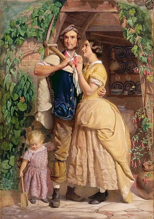 The Painting - The Sinews Of Old England by George Elgar Hicks