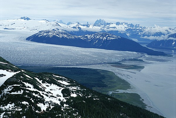 North America Photograph - The Taku Glacier, Near Juneau by Kenneth Garrett